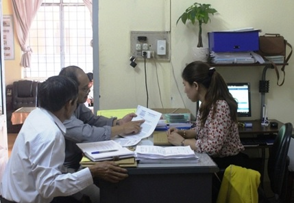 Kiểm tra CCHC tại BHXH huyện Cư M'gar