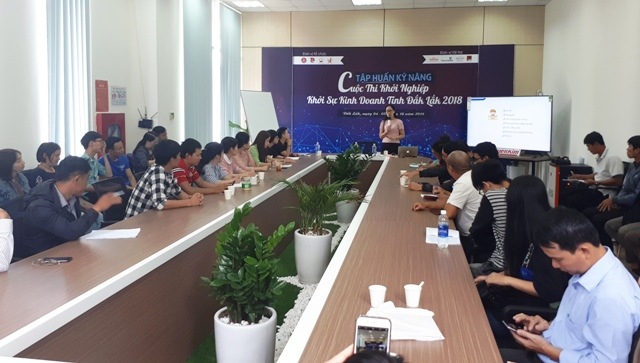 Tập huấn cho 31 đề án vào chung kết Cuộc thi khởi nghiệp, khởi sự kinh doanh tỉnh Đắk Lắk 2018