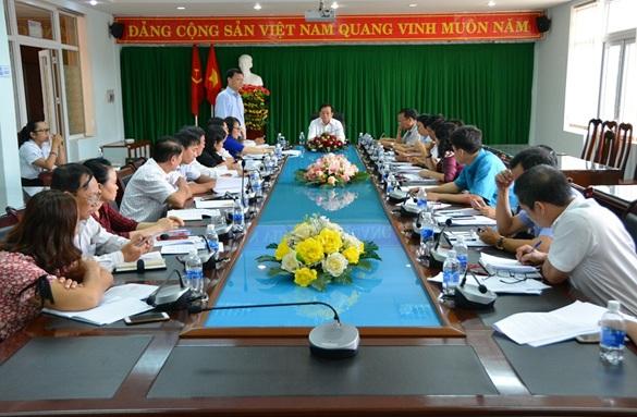 Đoàn giám sát HĐND tỉnh Đắk Lắk làm việc với UBND thành phố Buôn Ma Thuột về tình hình thực hiện các nguồn vốn đầu tư công trên địa bàn