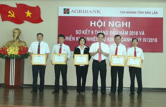Agribank Đắk Lắk triển khai nhiệm vụ kinh doanh quý IV/2018