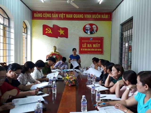 Hội LHPN huyện Krông Ana ra mắt Tổ Tư vấn cộng đồng cấp huyện