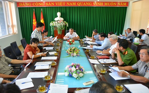 Thành ủy Buôn Ma Thuột sơ kết công tác Nội chính 9 tháng đầu năm và triển khai một số nhiệm vụ trọng tâm 3 tháng cuối năm 2018