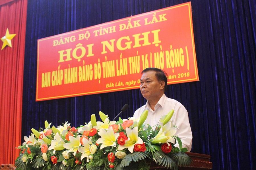 Hội nghị Ban Chấp hành Đảng bộ tỉnh (mở rộng) lần thứ 16