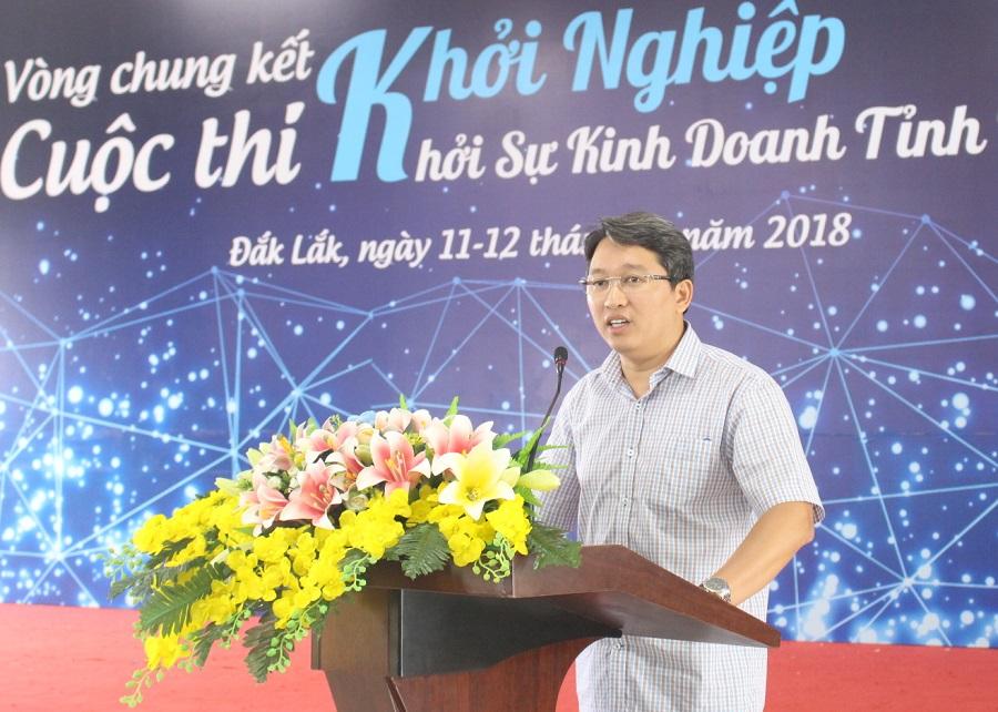 Khai mạc Vòng chung kết Cuộc thi khởi nghiệp, khởi sự kinh doanh tỉnh Đắk Lắk năm 2018