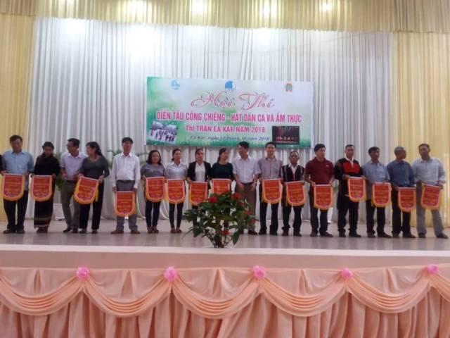 Huyện Ea Kar: Hội thi cồng chiêng, hát dân ca và ẩm thực năm 2018