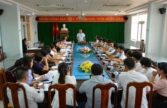 Thường trực HĐND thành phố Buôn Ma Thuột: Giao ban công tác 9 tháng đầu năm và triển khai phương hướng hoạt động 3 tháng cuối năm 2018