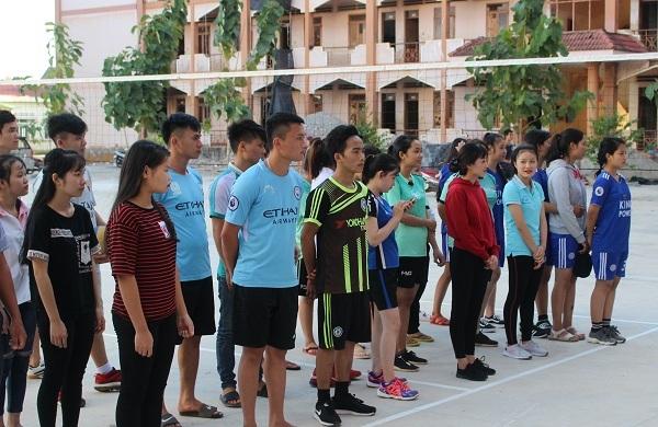 Trường Cao đẳng Công nghệ Tây Nguyên: Khai mạc Hội thao học sinh, sinh viên năm học 2018 – 2019
