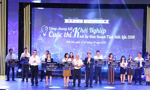 Mắc ca Nguyên Phương đạt giải nhất trong cuộc thi Khởi nghiệp khởi sự kinh doanh tỉnh Đắk Lắk lần thứ I/2018