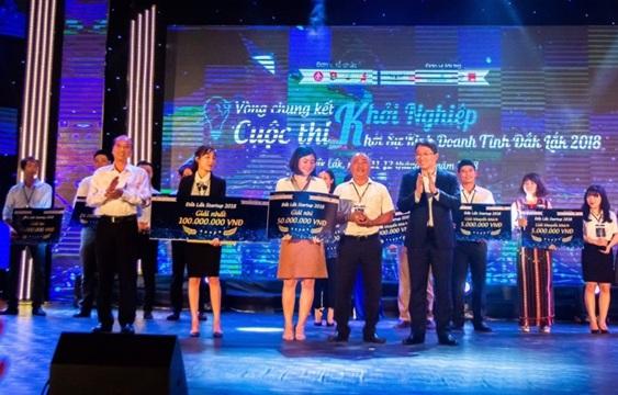Cuộc thi Khởi nghiệp, Khởi sự kinh doanh lần đầu tiên được tổ chức tại tỉnh Đắk Lắk đã thành công tốt đẹp