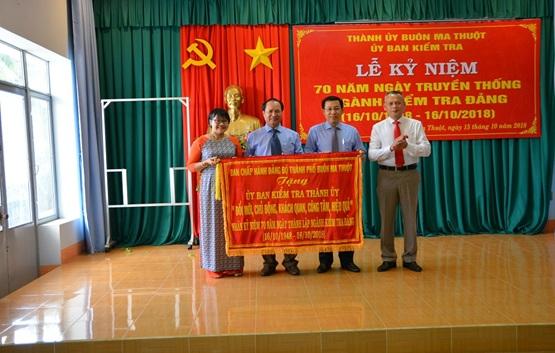 Thành phố Buôn Ma Thuột long trọng tổ chức Lễ kỷ niệm 70 năm Ngày truyền thống ngành Kiểm tra Đảng