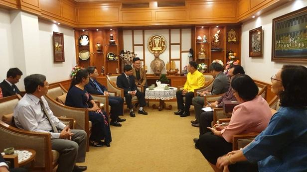 Đoàn công tác tỉnh Đắk Lắk làm việc tại Thái Lan