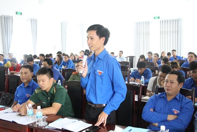 Hội nghị Báo cáo viên Tỉnh đoàn quý IV/2018