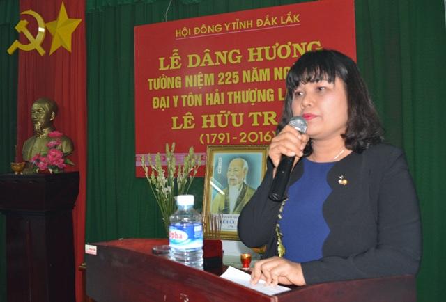 Hội Đông y tỉnh - Dâng hương tưởng niệm Đại y tôn Hải Thượng Lãn Ông  Lê Hữu Trác.