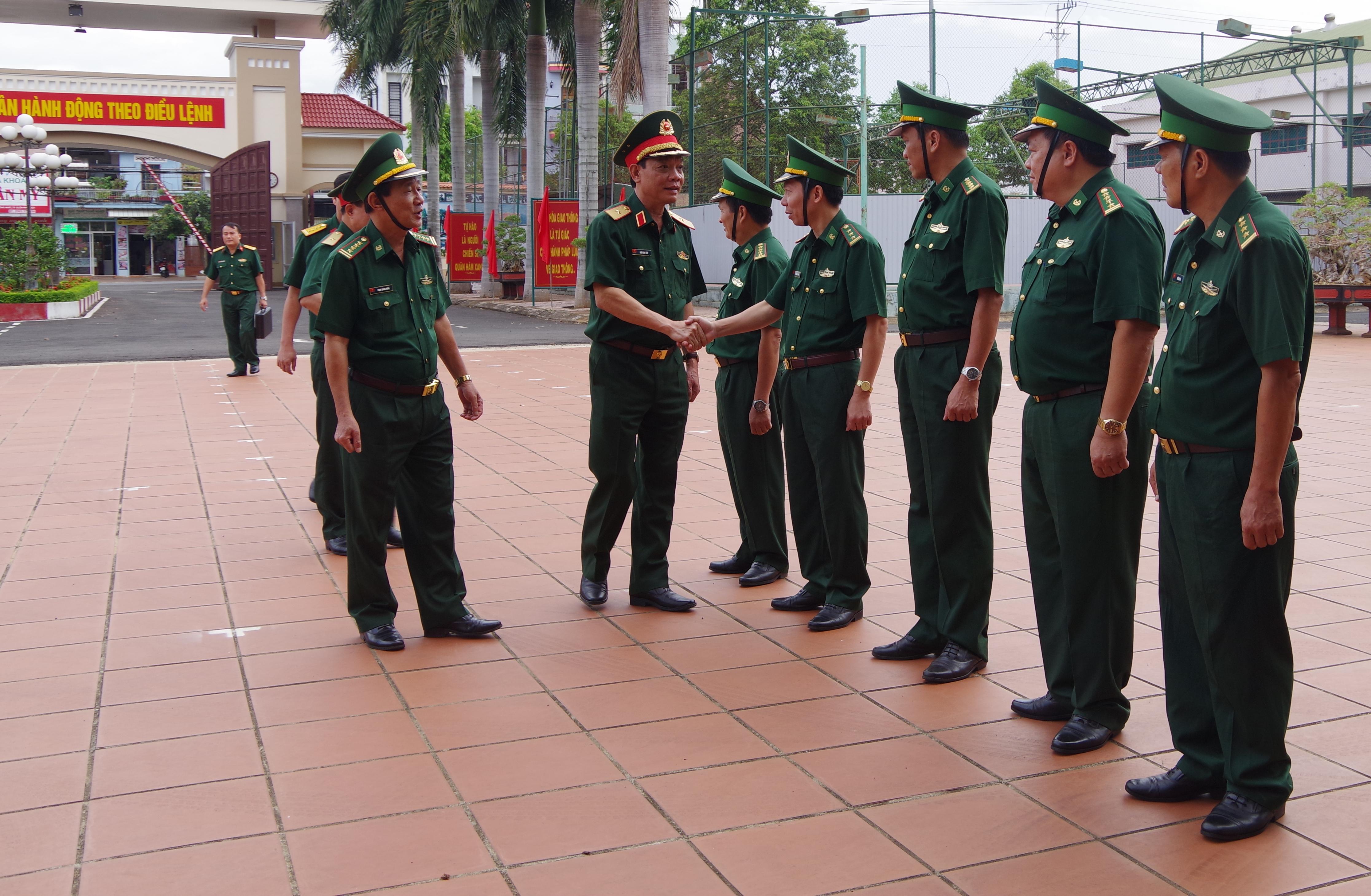 Bộ Tổng Tham mưu QĐND Việt Nam kiểm tra công tác quân sự, quốc phòng tại Bộ đội Biên phòng tỉnh Đắk Lắk