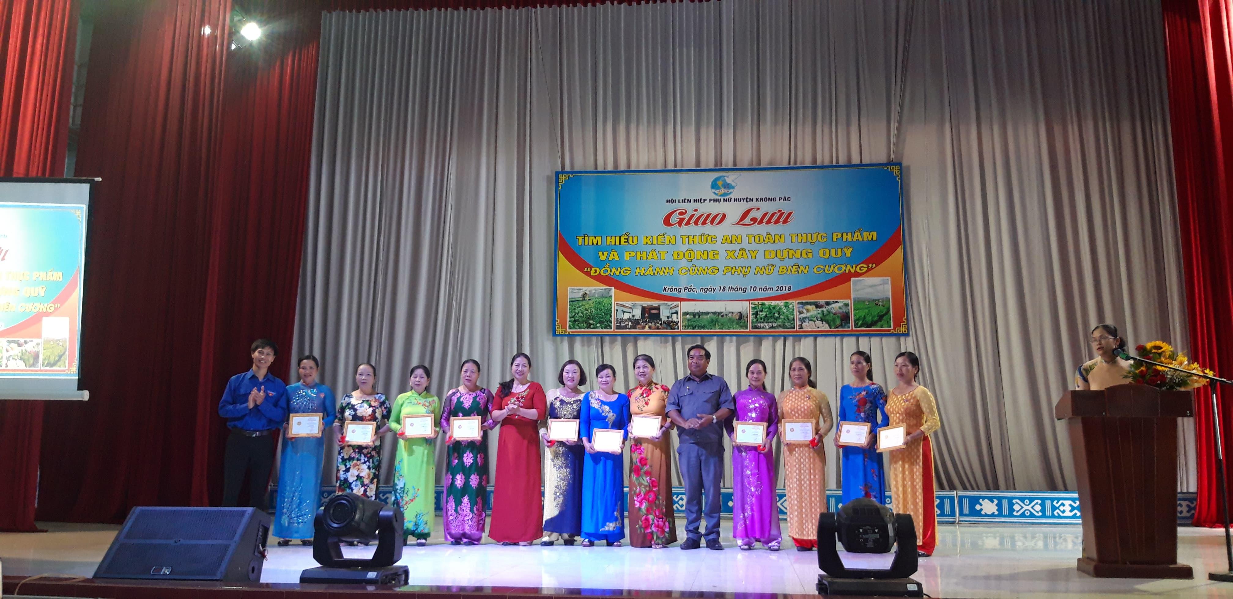 Krông Pắc: Sôi nổi kỷ niệm 88 năm Ngày thành lập Hội Liên hiệp Phụ nữ Việt Nam (20/10/1930-20/10/2018)