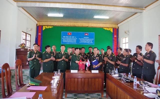 Bộ đội Biên phòng tỉnh Đắk Lắk và Tiểu khu Quân sự Mondulkiri, Campuchia tổ chức Hội đàm lần thứ 11