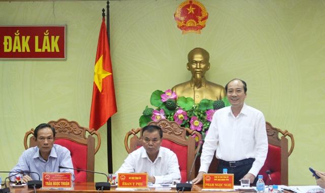 UBND tỉnh làm việc với Tập đoàn Cao su Việt Nam