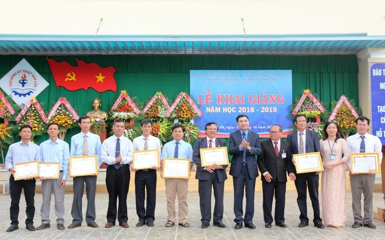 Trường Cao đẳng Kỹ thuật Đắk Lắk khai giảng năm học 2018-2019