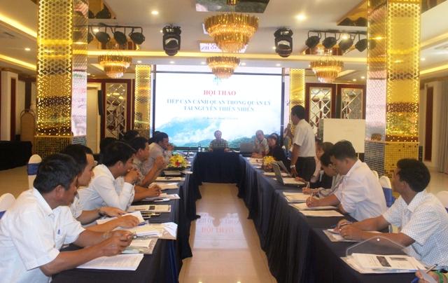 Hội thảo tiếp cận cảnh quan trong quản lý tài nguyên thiên nhiên