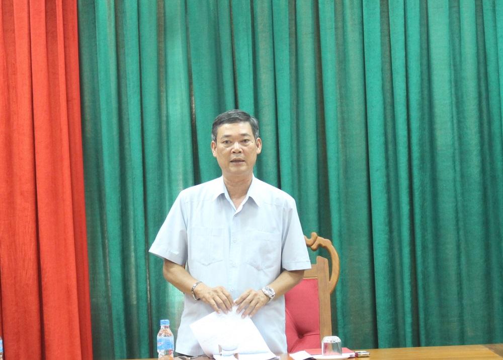 Ông Nguyễn Ngọc Những – Trưởng Ban Kinh tế - Ngân sách HĐND tỉnh, Phó Trưởng Đoàn giám sát phát biểu kết luận buổi làm việc