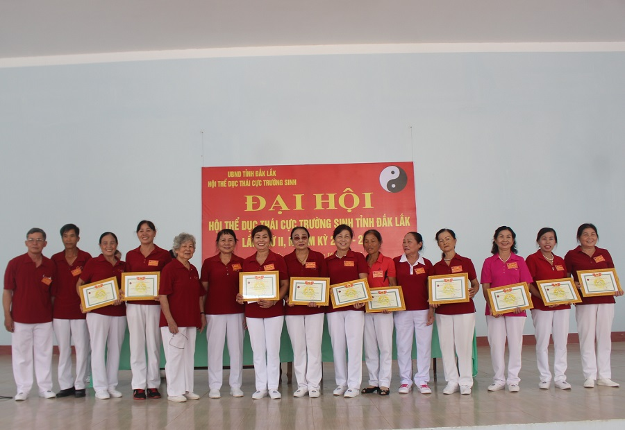 Đại hội Hội Thể dục Thái cực trường sinh tỉnh Đắk Lắk lần thứ II nhiệm kỳ 2018-2023