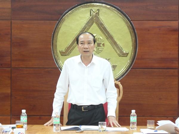 UBND tỉnh họp giải quyết những vướng mắc trong quá trình triển khai Dự án Tổ hợp khách sạn 5 sao tại số 81 Nguyễn Tất Thành
