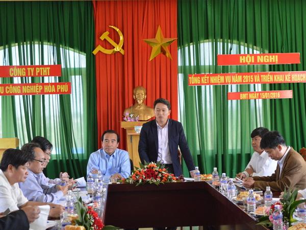 UBND tỉnh thăm và làm việc tại Khu công nghiệp Hòa Phú