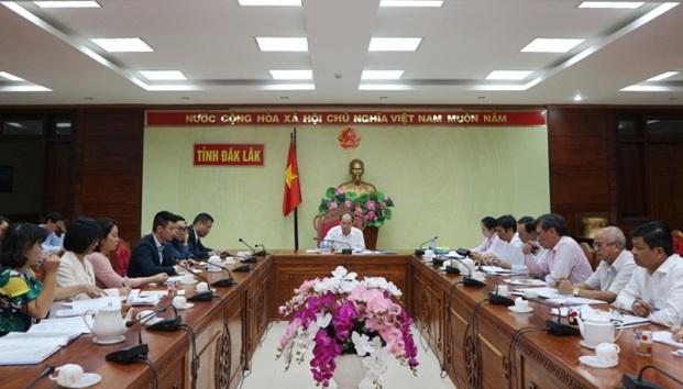 UBND tỉnh làm việc với Công ty cổ phần bất động sản Việt - Nhật