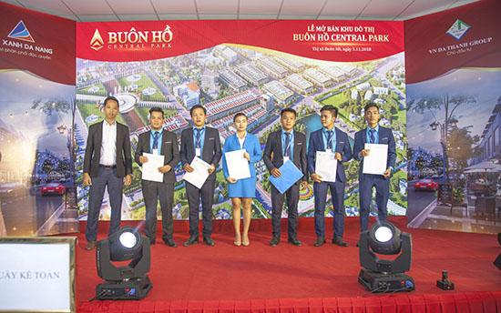 Công ty Cổ phần Đất Xanh Đà Nẵng giới thiệu và mở bán dự án Buôn Hồ Central Park