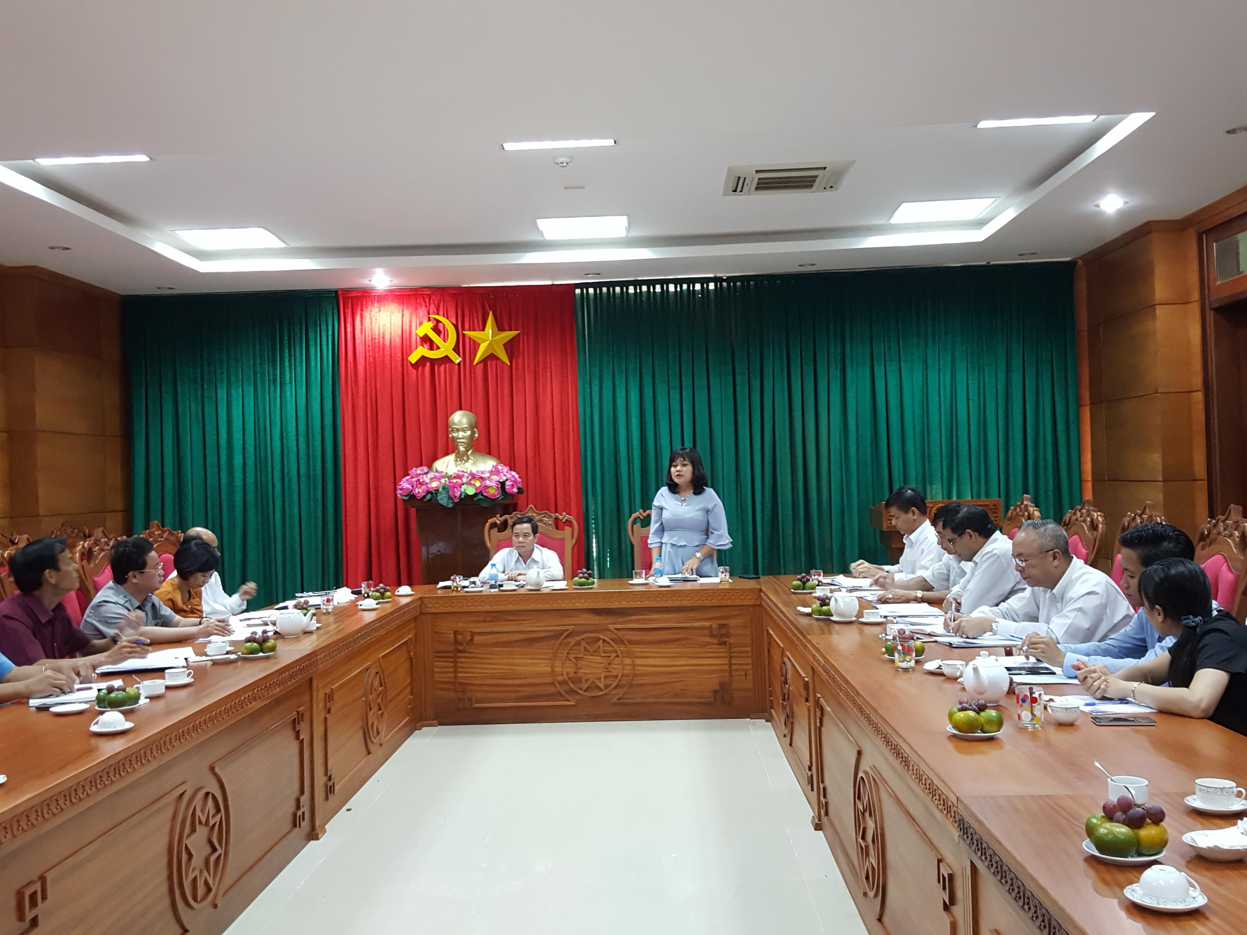 Đoàn kiểm tra thi đua, khen thưởng Trung ương làm việc tại Đắk Lắk