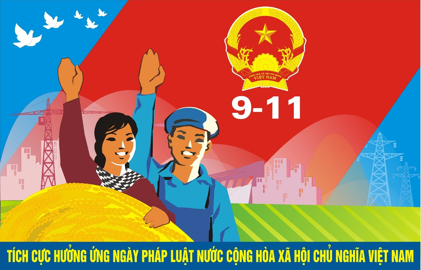 Kết quả 5 năm triển khai thực hiện Ngày Pháp luật nước Cộng hòa xã hội chủ nghĩa Việt Nam trên địa bàn tỉnh