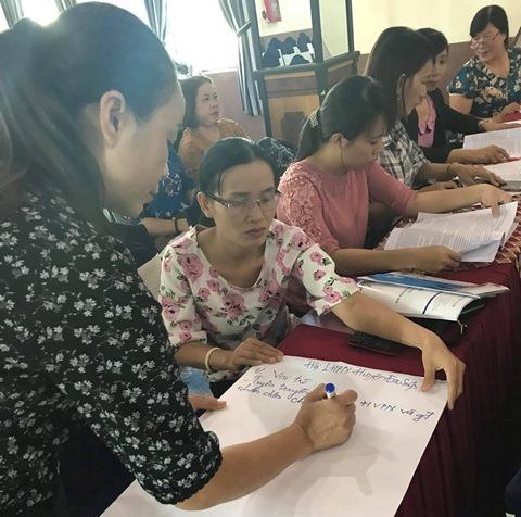 Tập huấn kỹ năng tuyên truyền Chương trình mục tiêu quốc gia xây dựng nông thôn mới cho cán bộ, hội viên phụ nữ các cấp năm 2018