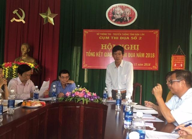 Huyện Lắk: Cụm thi đua số 2 Đài Truyền thanh – Truyền hình huyện tổng kết công tác thi đua năm 2018