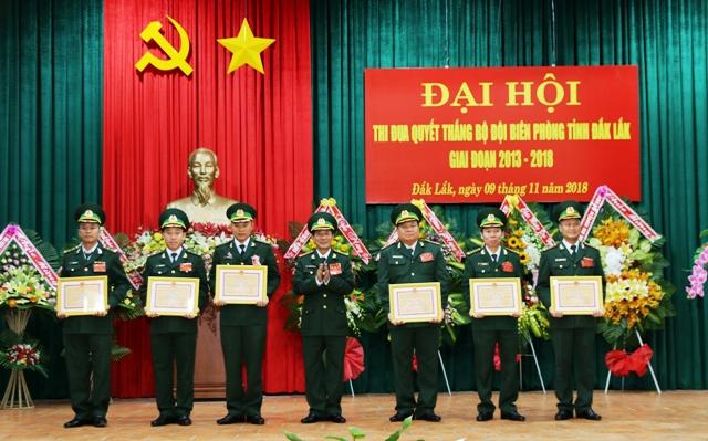 Đại hội Thi đua quyết thắng Bộ đội Biên phòng tỉnh Đắk Lắk giai đoạn 2013-2018