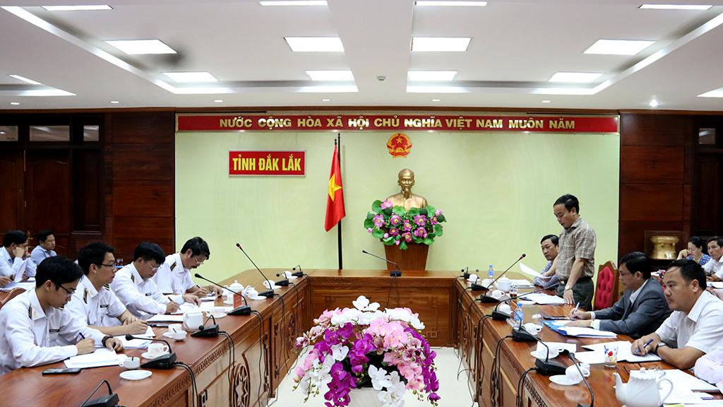 Kiểm toán Nhà nước khu vực XII làm việc với UBND tỉnh