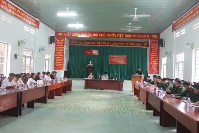 Sơ kết 5 năm thực hiện Quyết định 741 của Ban Thường vụ Tỉnh ủy tại xã Krông Na, huyện Buôn Đôn