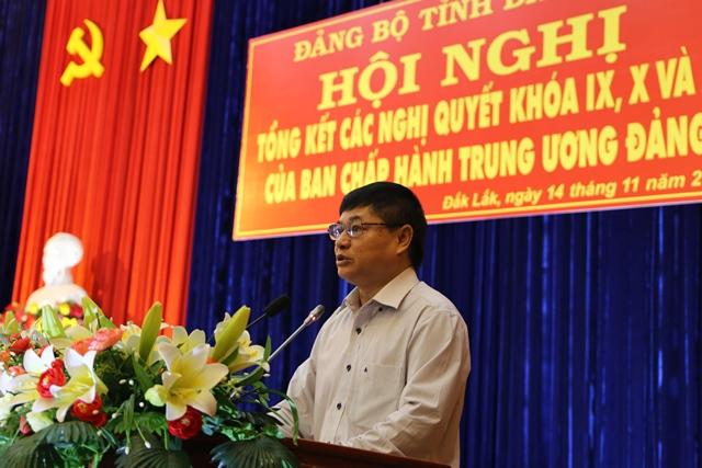Hội nghị tổng kết các nghị quyết khóa IX, X, XI của Ban Chấp hành Trung ương Đảng