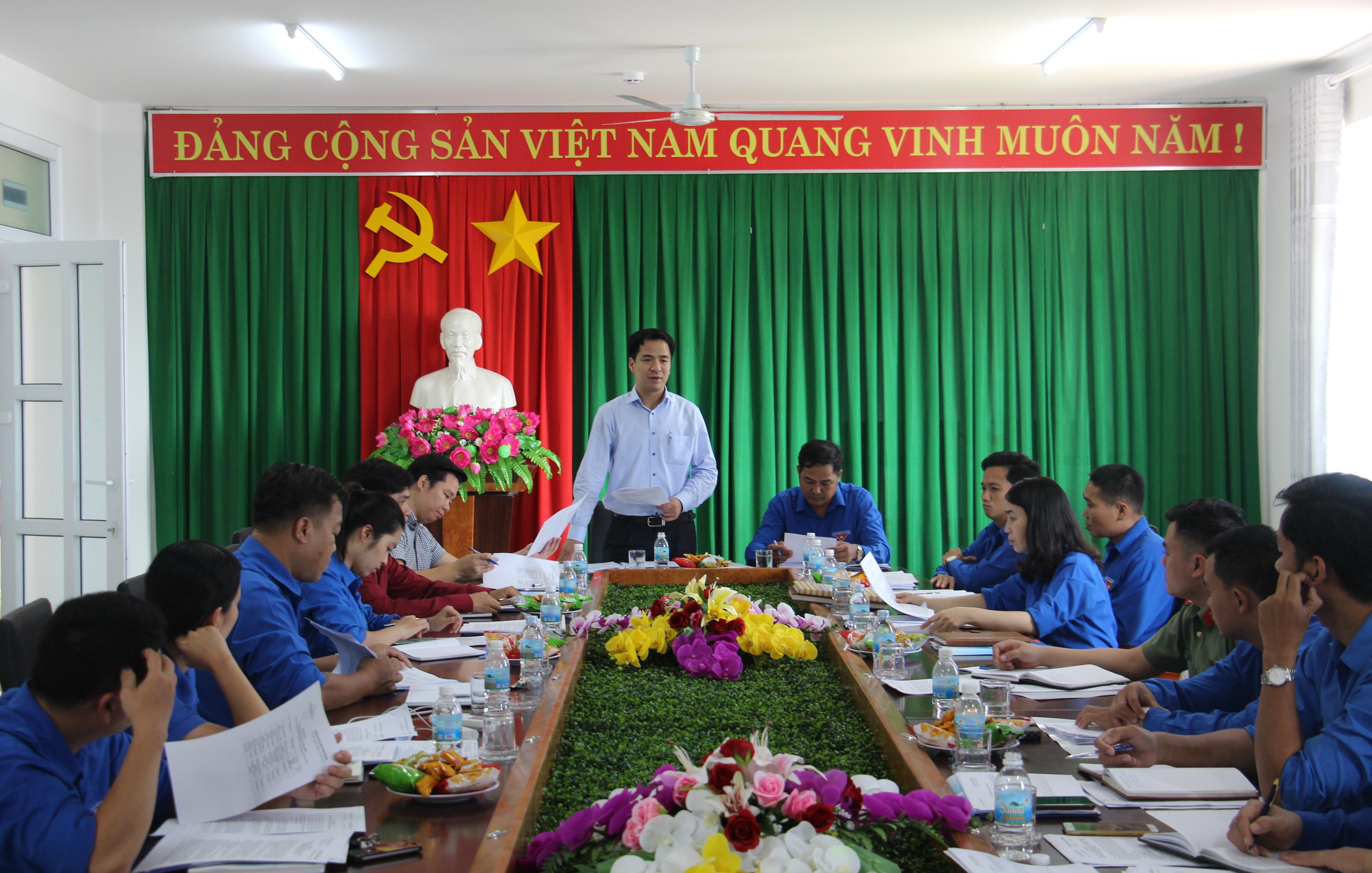 Trung ương Đoàn kiểm tra công tác Đoàn và phong trào thanh thiếu nhi tại tỉnh Đắk Lắk
