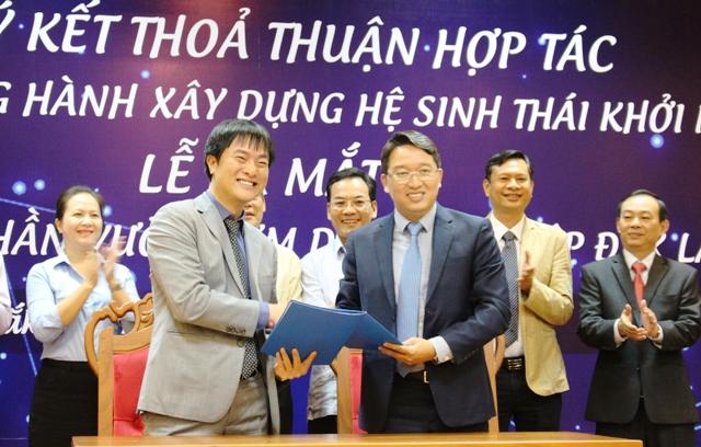 Ký kết thỏa thuận hợp tác giữa UBND tỉnh và Quỹ khởi nghiệp doanh nghiệp Khoa học và Công nghệ Việt Nam