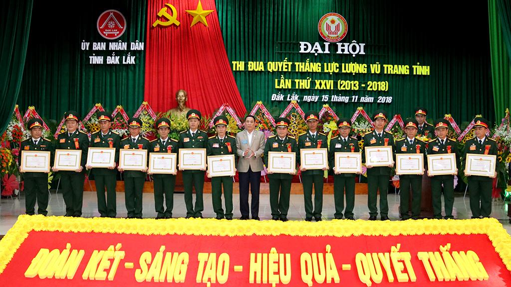 Đại hội Thi đua Quyết thắng Lực lượng vũ trang tỉnh lần thứ XXVI (2013 - 2018)