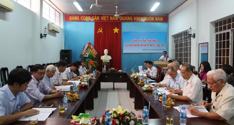 Trường Chính trị tỉnh Tọa đàm truyền thống và kỷ niệm 36 năm Ngày Nhà giáo Việt Nam