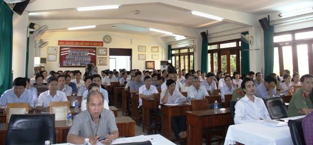 Sở Nông nghiệp và Phát triển nông thôn tuyên truyền cải cách hành chính và phổ biến giáo dục pháp luật