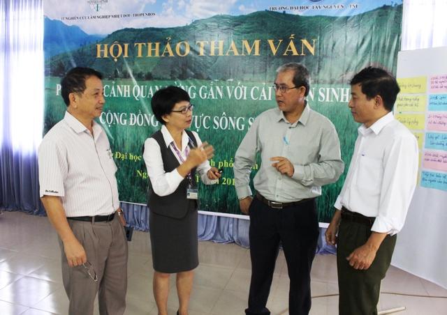 Hội thảo tham vấn phục hồi cảnh quan rừng gắn với cải thiện sinh kế cộng đồng lưu vực sông Sêrêpốk