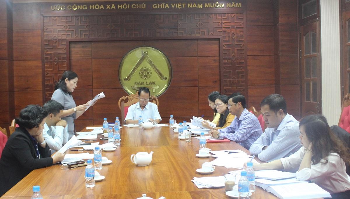Ban Pháp chế thẩm tra các văn bản trình Kỳ họp thứ 7 HĐND tỉnh