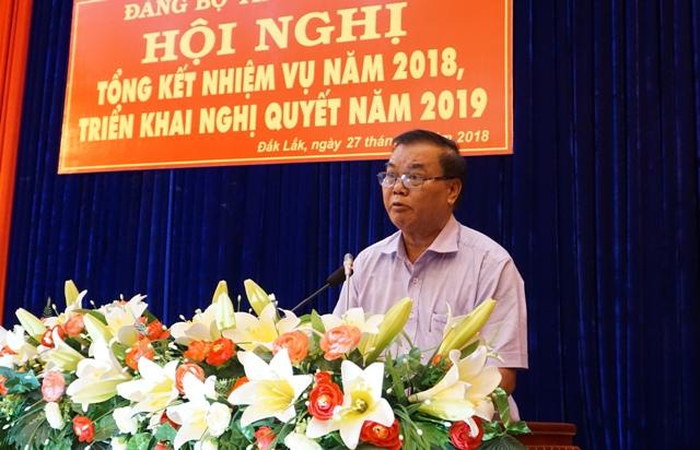 Ban Thường vụ Tỉnh ủy triển khai Nghị quyết năm 2019 và bầu bổ sung các chức danh