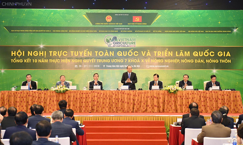 Tổng kết 10 năm thực hiện Nghị quyết Trung ương 7, khóa X về nông nghiệp, nông dân và nông thôn