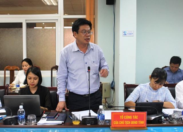 Tổ công tác của Chủ tịch UBND tỉnh kiểm tra tại UBND thành phố Buôn Ma Thuột