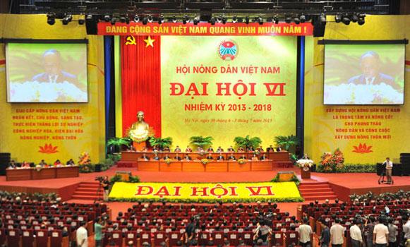 Đề cương tuyên truyền Đại hội đại biểu toàn quốc Hội Nông dân Việt Nam lần thứ VII, nhiệm kỳ 2018 – 2023