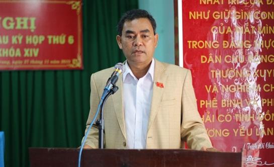 Đoàn Đại biểu Quốc hội tỉnh tiếp xúc cử tri sau Kỳ họp thứ 6 Quốc hội khóa XIV tại huyện Ea H'leo và Krông Búk