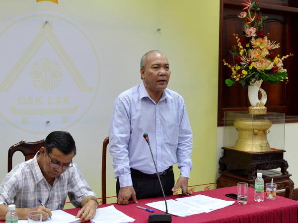UBND tỉnh gặp mặt Ủy ban MTTQVN tỉnh và các Đoàn thể của tỉnh năm 2016
